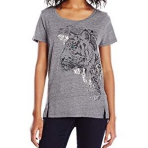 Lucky Brand Women's Tiger Eye Graphic Tee